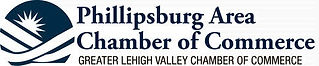 Phillipsburg Chamber logo in gray