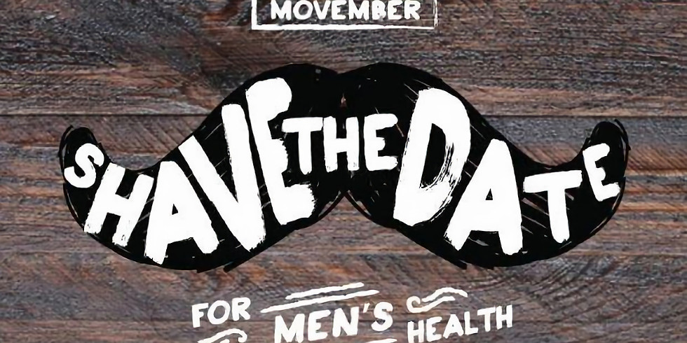Shave the Date! Movember Shave Down!