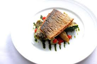 Pan-Seared Barramundi with Vegetables Provencal