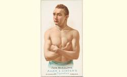Jack McAuliffe Allen & Ginter Card