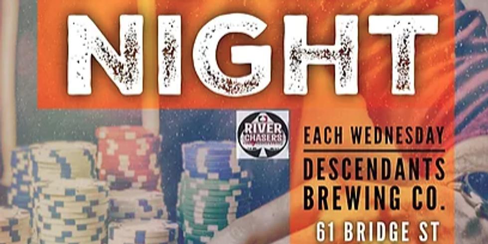 Weekly Poker Night!