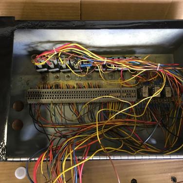 Reinstalling Wiring In Rebuilt Box