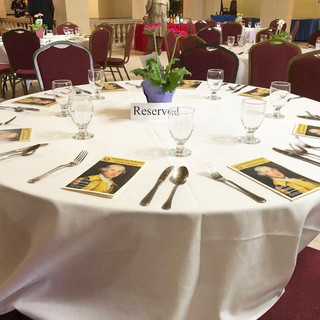 Table Setting Annual Meeting