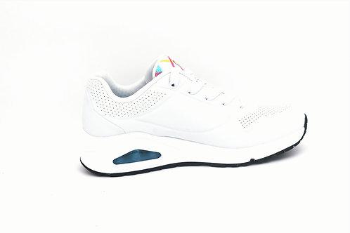 Skechers Uno- Spread The Love -White/Multi