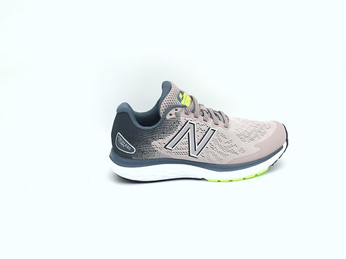 New Balance W680  V7 - Light Pink/Grey