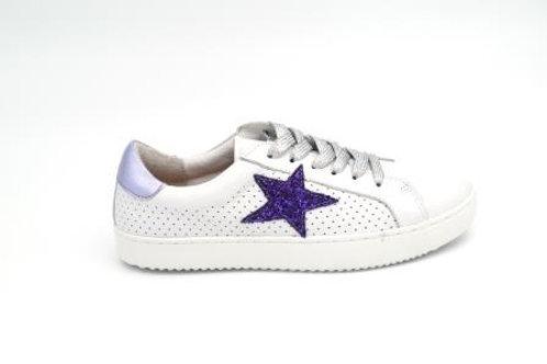 Alfie & Evie Valdo - White/Purple