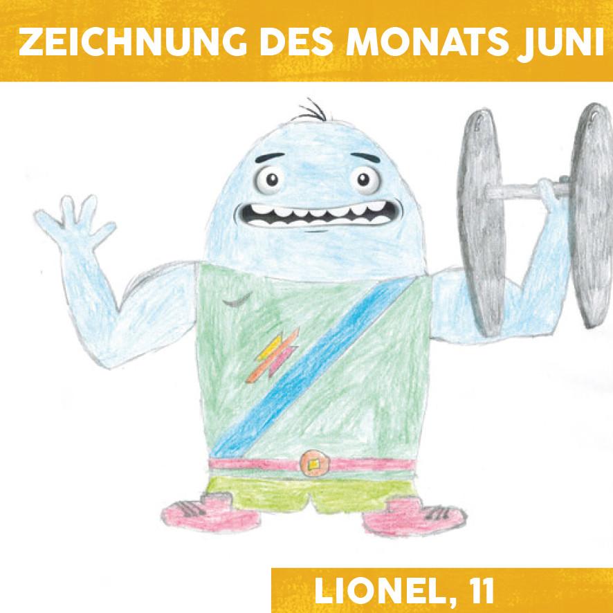 Zeichnung des Monats Juni