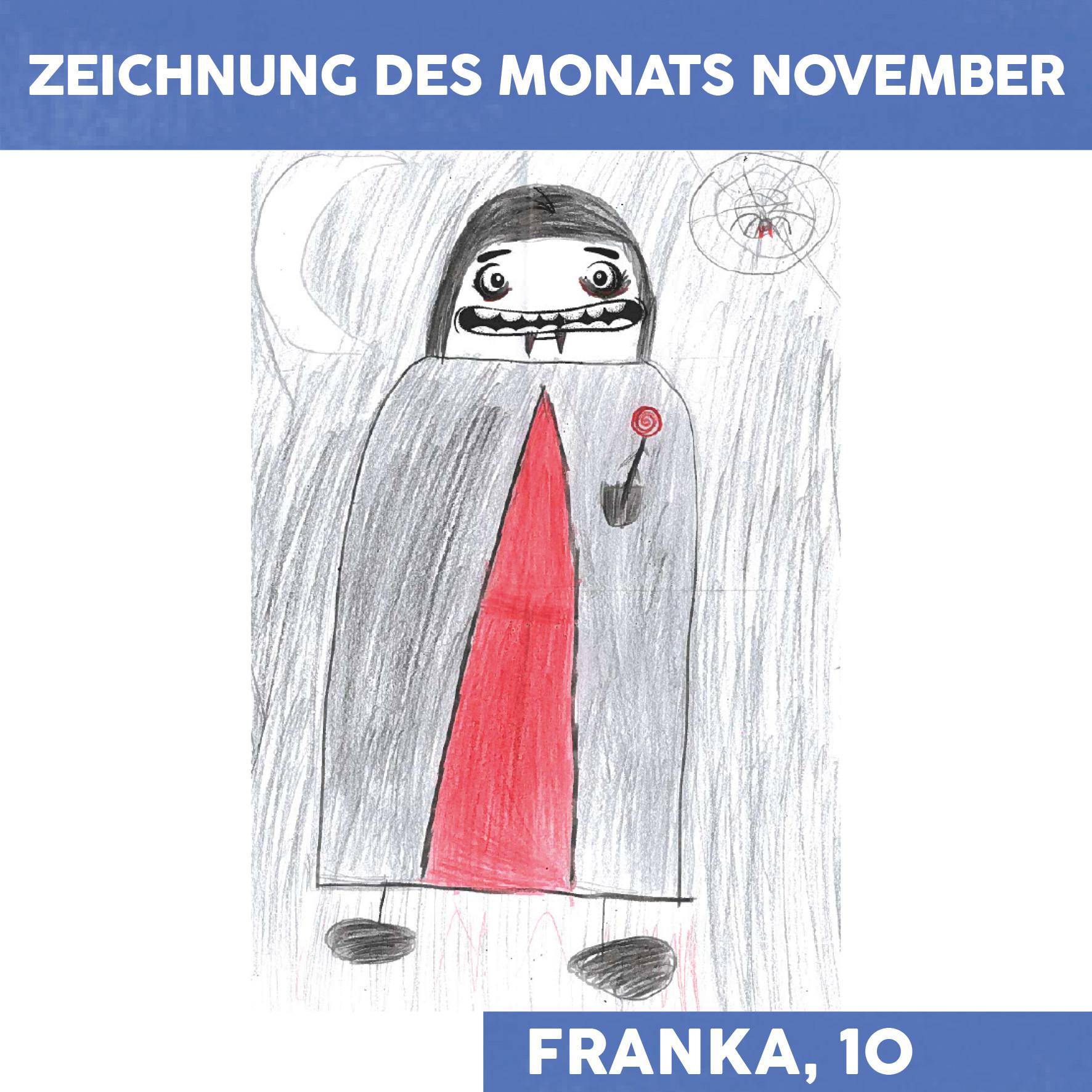 Zeichnung des Monats November
