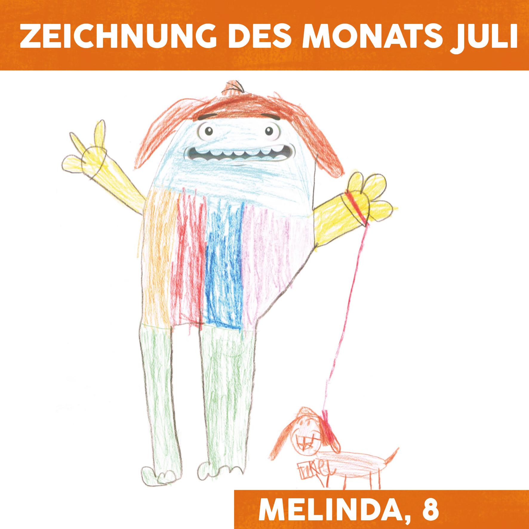Zeichnung des Monats Juli