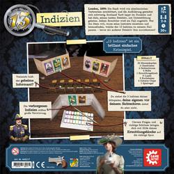 13 Indizien Box Rückseite