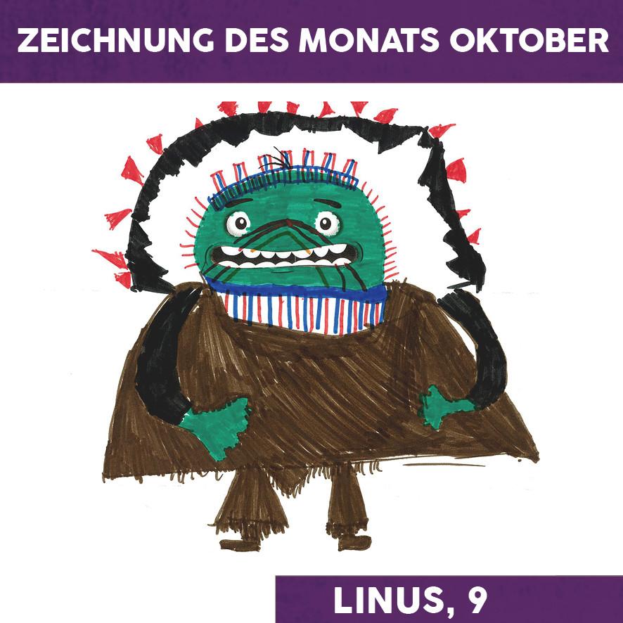 Zeichnung des Monats Oktober