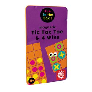 Magnetic Tic Tac Toe & 4 Wins