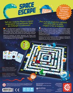 Space Escape Rückseite