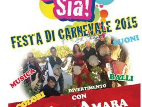 … e gioia sia! – Festa di Carnevale 2015