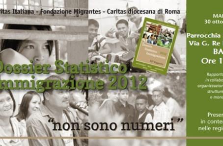 Presentazione Dossier Caritas Migrantes 2012