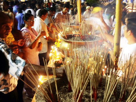 Dialogo interreligioso: la festa del Vesak