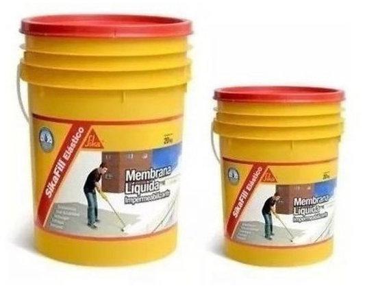 Sikafill Elástico Membrana Líquida 20 + 4 Kilos