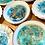 Thumbnail: Gold Rim Trinket Dish