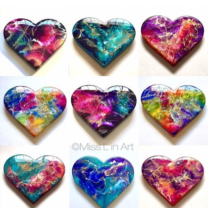 Custom a Heart (made to order)