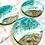 Thumbnail: Set of 3 Resin Ocean Art (2)