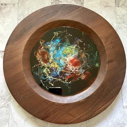 Decorative Wood Tray/Wall Art
