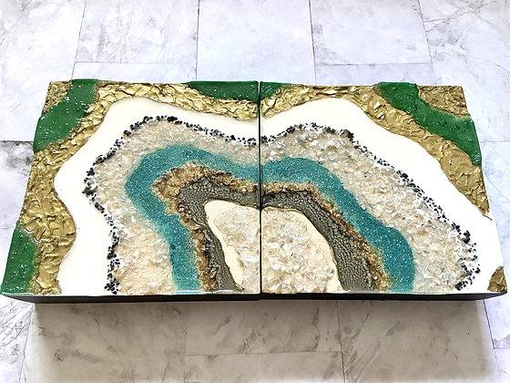 Geode Diptych