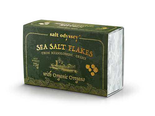 SEA SALT FLAKES W/ ORGANIC OREGANO