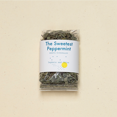 THE SWEETEST PEPPERMINT LEAVES SACHET