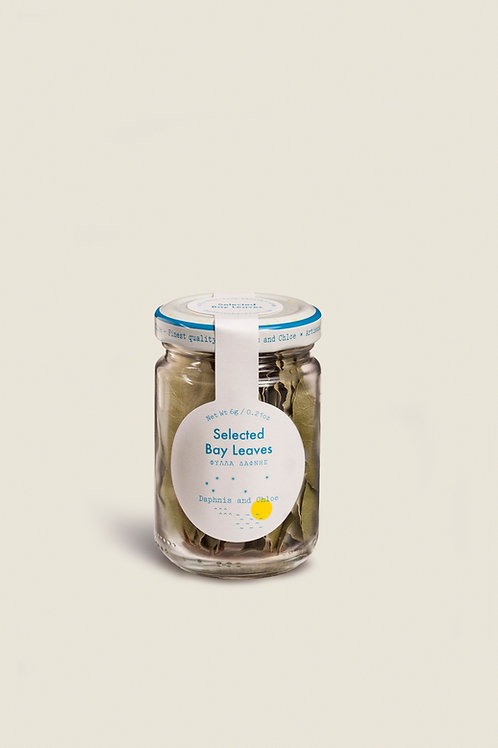 SELECTED BAY LEAVES GLASS JAR