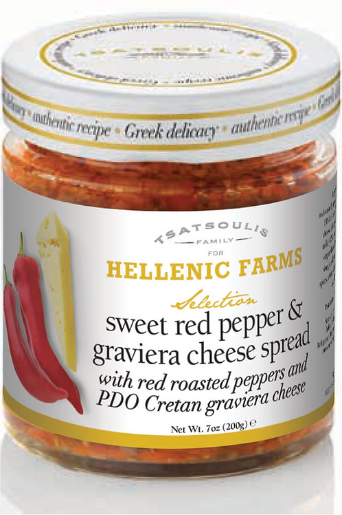 SWEET RED PEPPER & GRAVIERA CHEESE SPREAD