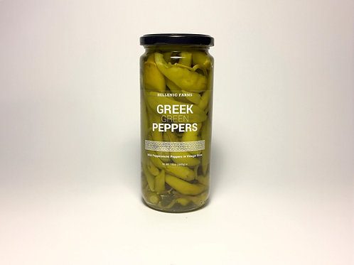 GREEK GREEN PEPPERS