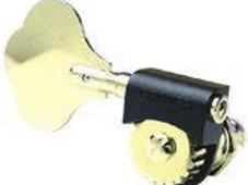 143G Grover Lightweight Bass Tuners, Gold