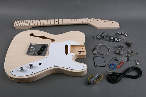 SEMI-HOLLOW ELECTRIC GUITAR KIT K-TL180