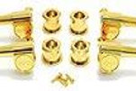 144G Grover Mini 20:1 Bass Tuners, Gold