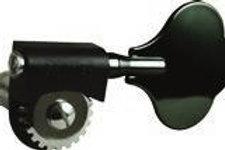 143BC Grover Lightweight Bass Tuners, Black