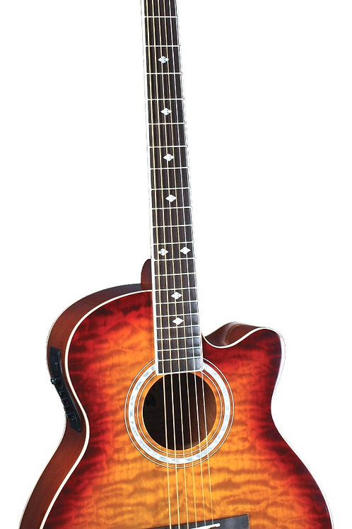 Indiana - Madison Elite Quilts Acoustic Electric Guitar