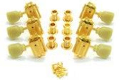 135G Grover Vintage Tuners, Gold