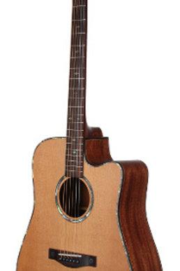 Teton STS205CENT Cedar Top Acoustic Electric Guitar
