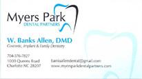 W. Banks Allen, DMD Myers Park Dental