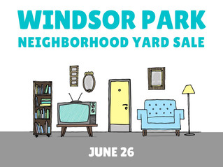 Windsor Park Neighborhood Yard Sale