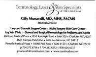 Gilly Munavalli, MD, MHS, FACMS Medical Director