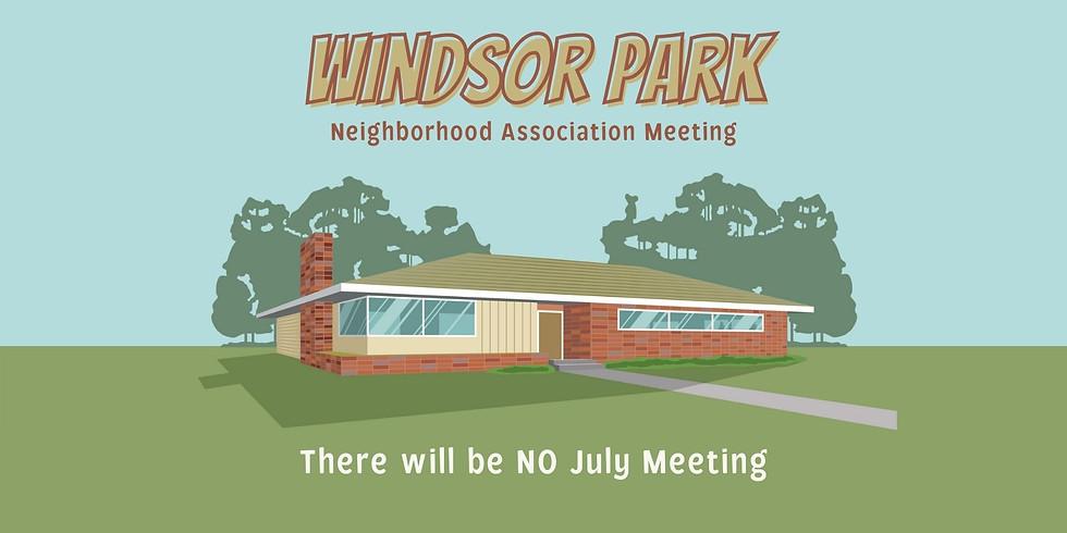 ⚠️ No July WPNA Meeting