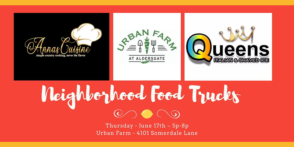 Food Truck + Farm Stand + Cooking Demo