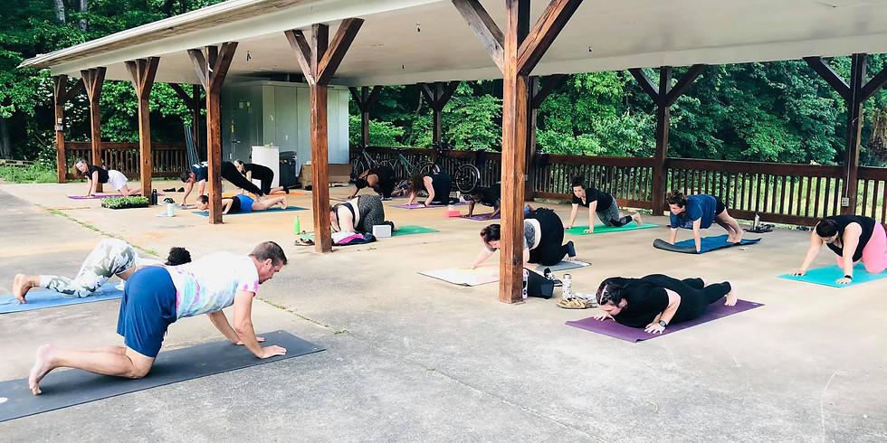 Twilight Yoga at the Urban Farm