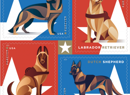 Military Working Dog Stamps