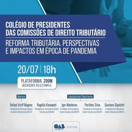 Live: Reforma tributária. Perspectivas e impactos em época de pandemia