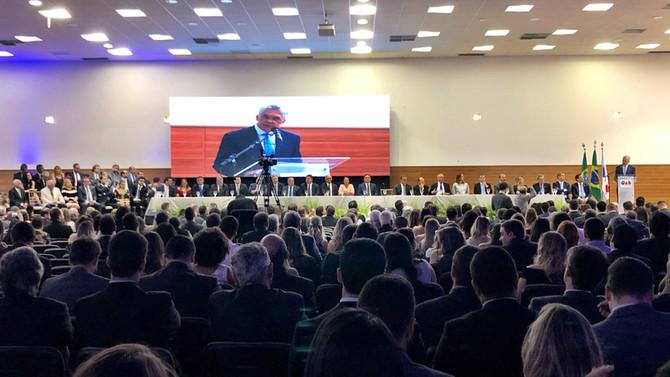 Aldo Medeiros e novos dirigentes da OAB-RN tomam posse para o triênio 2019/2021
