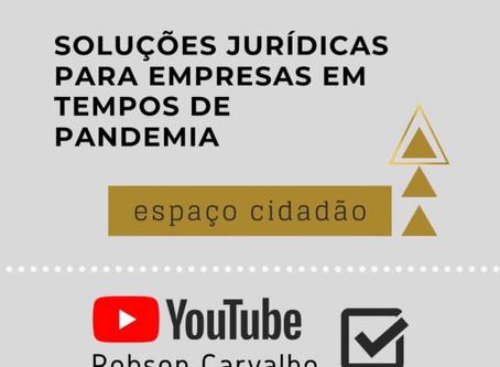 Entrevista: Soluções jurídicas para empresas em tempo de pandemia
