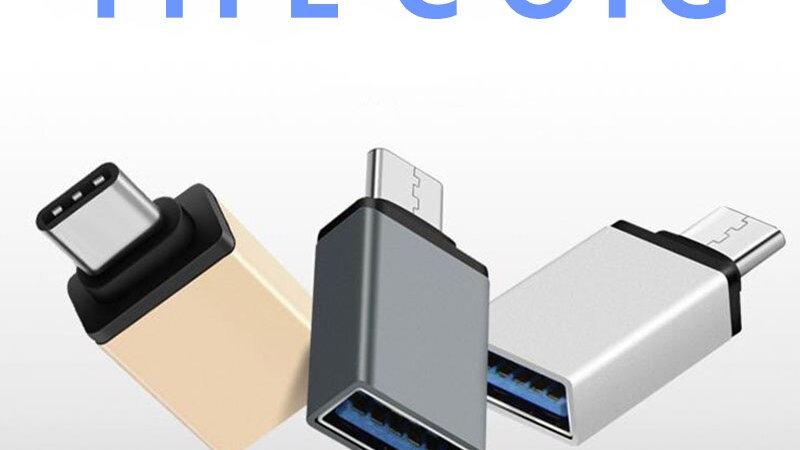 USB 3.0 Type C OTG Cable Adapter for Macbook Type-C USB-C OTG Converter