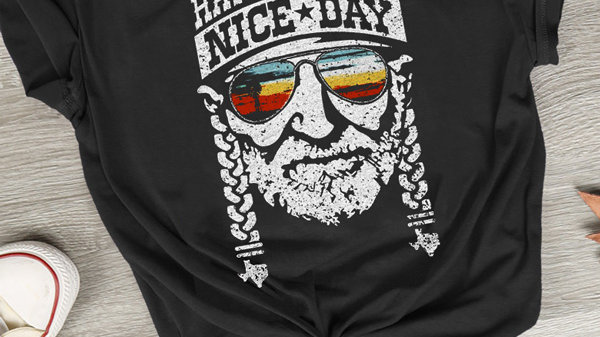 New Fashion Women T-Shirt Summer Short Sleeve Have a Willie Nice Day